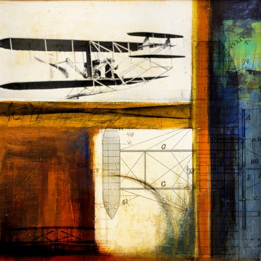 Aircraft 05 Wright Flyer Print Only